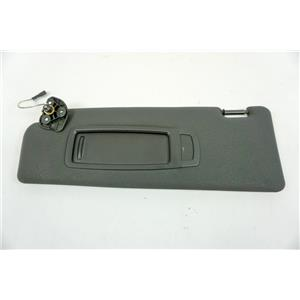 2007-2010 BMW X5 Driver Side Sun Visor with Lighted Mirror and Adjustable Arm