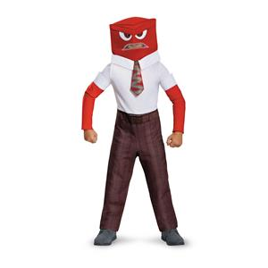 Disguise Anger Classic Child Costume Large 10-12