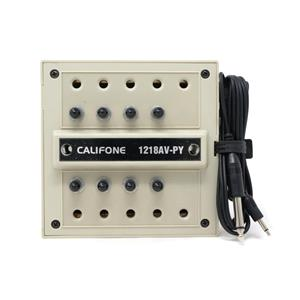 Califone 1218AV-PY 10 Station Headphone Jackbox