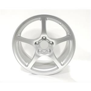 Chevy Chevrolet Corvette Genuine OEM Alloy Rear Wheel Silver QD4 18x9.5 9593799