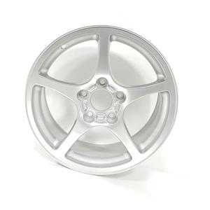 Chevy Chevrolet Corvette Genuine OEM Alloy Front Wheel Silver QD4 17x8.5 9593797
