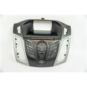2012-2014 Ford Focus Radio Dash Trim Bezel with Radio Controls Hazard Switch