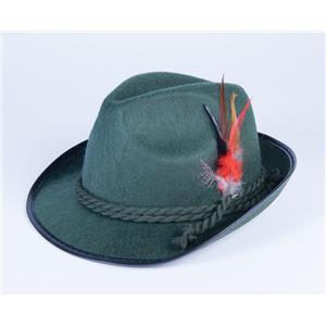 Deluxe Adult Green Oktoberfest Costume Hat