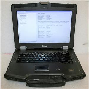 """Dell Latitude E6400 XFR Rugged 14"""" Core 2 Duo P8700 2.53Ghz 4GB 120GB SSD Laptop"""