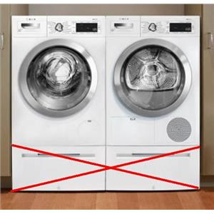 Bosch 800 Series Wifi Capablitiy Washer and Dryer Set WAW285H2UC / WTG865H2UC