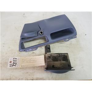1999-2004 Ford F350/F250 Lariat XLT blue dash bezel tag as72117