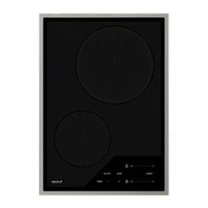 NIB Wolf 15 Inch 2 Cooking Zones Transitional Induction Cooktop CI152TFS