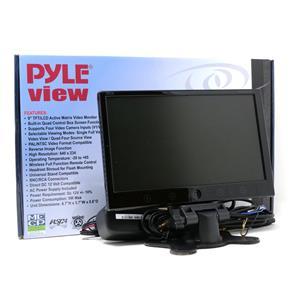 Pyle PLHRQD9B 9-Inch Quad TFT/LCD Video Monitor