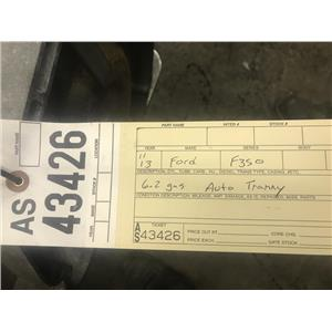 2011-2013 Ford F350 6.2L automatic transmission out of a 4x4 as43126