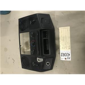 2008-2010 Ford F350 Powerstroke XLT dash bezel tag as43362