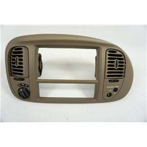 1997-2003 Ford F150 Radio Climate Dash Trim Bezel with Vents, Indicator and 4WD