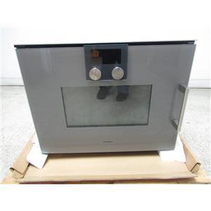 Gaggenau 200 series programs temperature display speed microwave oven BMP251710