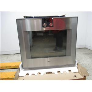 """Gaggenau 400 Series 30"""" TFT Touch Display Single Convection Wall Oven BO480611"""