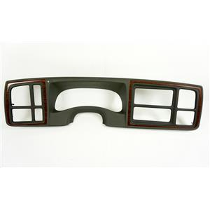 2002 Cadillac Escalade Dash Trim Bezel with Gray Trim 1.5 Din Opening
