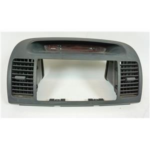 2002-2006 Toyota Camry Radio Dash Trim Bezel with Clock and Vents