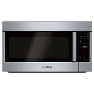 Bosch 800 Series 30 inch White LED Over The Range Convection Microwave HMV8053U