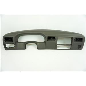 1999-2004 Ford F250 F350 Dash Trim Bezel with Black Vents 12V Power Point