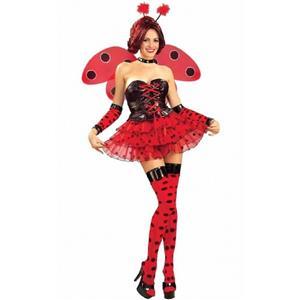 Luscious Ladybug Sexy Adult Costume Size Medium/Large