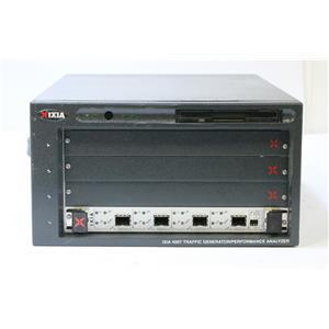 IXIA 400T Traffic Generator / Analyzer with LM1000SFPS4 Fiber Load Module