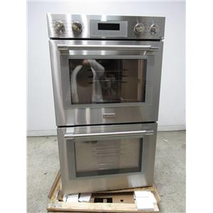 """Thermador Professional Series 30"""" Stainless 16 cooking modes Double Oven POD302W"""