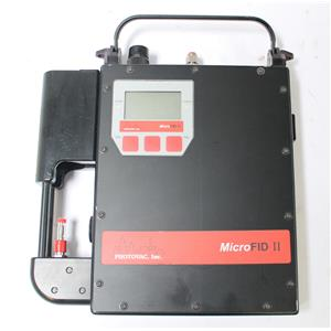 Inficon / Photovac MicroFID II Intrinsically Safe Flame Ionization Detector