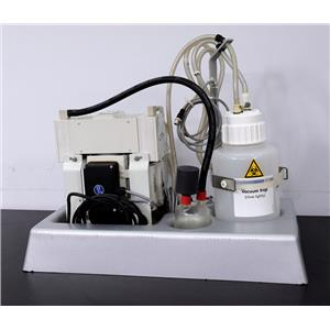 QIAGEN BioRobot 8000 2004 KNF Neuberger PJ15288-834.3 Vacuum Pump Trap Bottle