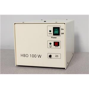 Used: Zeiss Attoarc 2 HBO 100 W Microscope Light Source Power Supply Warranty