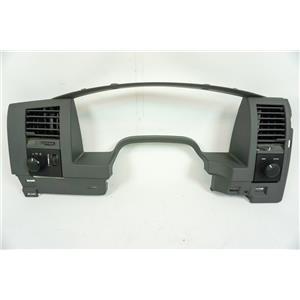 2004-2009 Dodge Durango Dash Trim Bezel with Light Switch and 4WD Switch