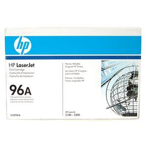 New Genuine HP LaserJet 96A Black Print Cartridge C4096A 2100, 2200