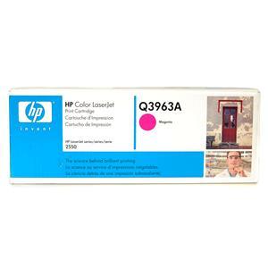New Genuine HP Color LaserJet Magenta Print Cartridge Q3963A for 2550