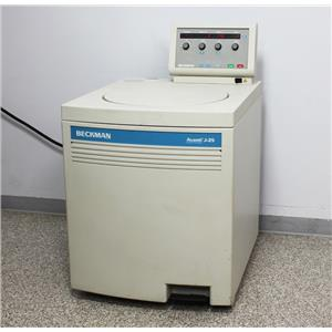 Beckman Coulter Avanti J-25 High Speed 25000 RPM Refrigerated Floor Centrifuge