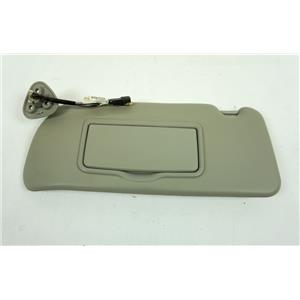 2004-2009 Cadillac SRX Driver Side Sun Visor with Lighted Mirror Garage Opener