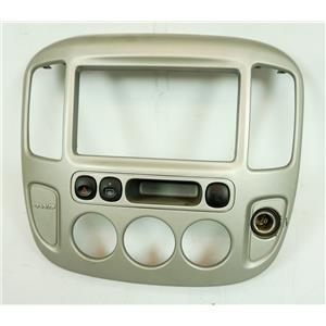 2005-2007 Ford Escape Mariner Radio Climate Dash Trim Bezel with Hazard Switch