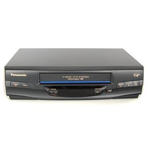 Panasonic PV-V4520 Omnivision 4 Head Hi-Fi Stereo VHS VCR Tested