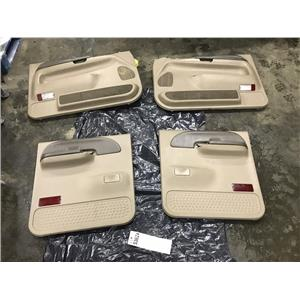 1999-2007 Ford F350 grey XLT XL door panels out of a crew cab tag as53624