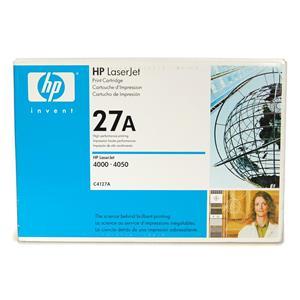 New Genuine HP LaserJet 27A Print Cartridge C4127A for LaserJet 4000, 4050