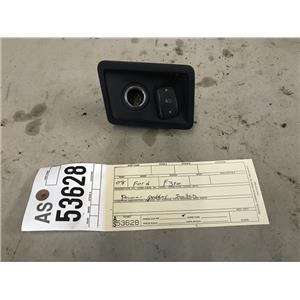 2008-2010 Ford F350 Powerstroke Laria power pedal switch and bezel tag as53628