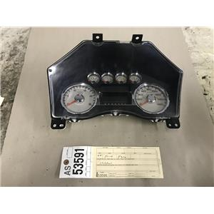 2008-2010 Ford F250 F350 Lariat gauge cluster tag as53591