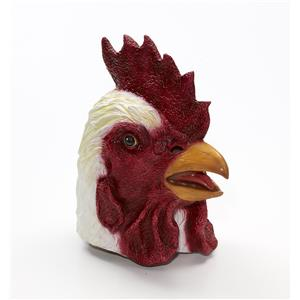 Rooster Adult Farm Animal Bird Latex Mask