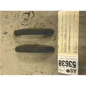 2003-2007 Ford F350 Lariat grey windshield pillars and grab handles tag as53638