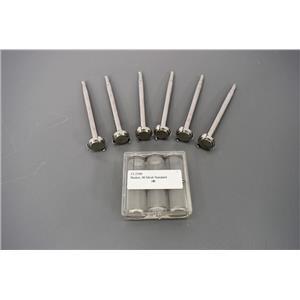 Used: (6)Spring-Clip Basket Shafts & (6)40 Mesh Standard Baskets for Dissolution Units