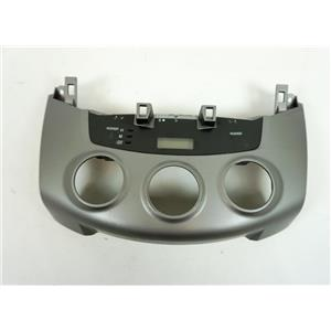 2006-2012 Toyota RAV4 Climate Control Dash Bezel with Clock and Indicators