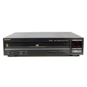 Sony CDP-C305 5-Disc CD Changer Player Tested