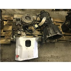 1999-2003 Ford F350 7.3L zf6 manual transmission swap for 2wd as53672