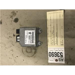 2008-2010 Ford F250 F350 Powerstroke diesel air bag module tag as53690