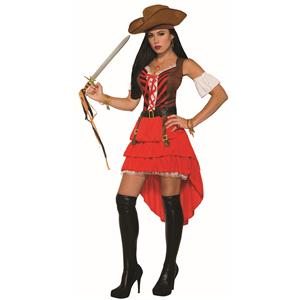 Pirate Vixen Sexy Women's Buccaneer Pirate Adult Costume