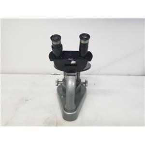 Ernst Leitz Wetzlar Vintage Microscope 715122 w/ 2 Objectives