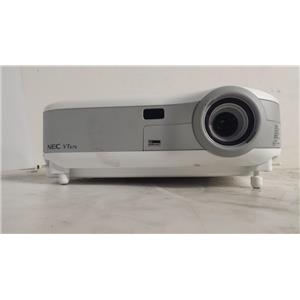 NEC VT676 LCD PROJECTOR(444 LAMP HOURS USED)