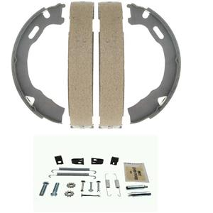 New Rear Emergency Parking Brake Shoes with Spring kit fits Titan Armada 04-15