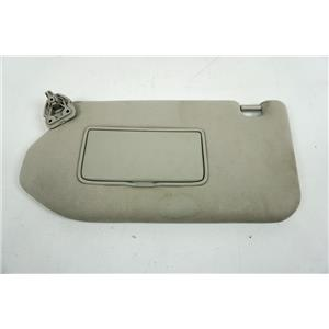 13-19 Nissan Pathfinder Driver Side Sun Visor with Covered Mirror Extend Panel
